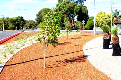 Commercial Landscaping - Libra Lake Roundabout